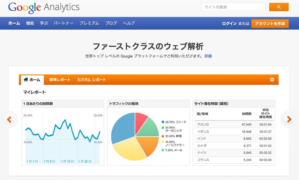 Google Analytics(グーグルアナリティクス)のアメブロ、WordPressへの設置方法